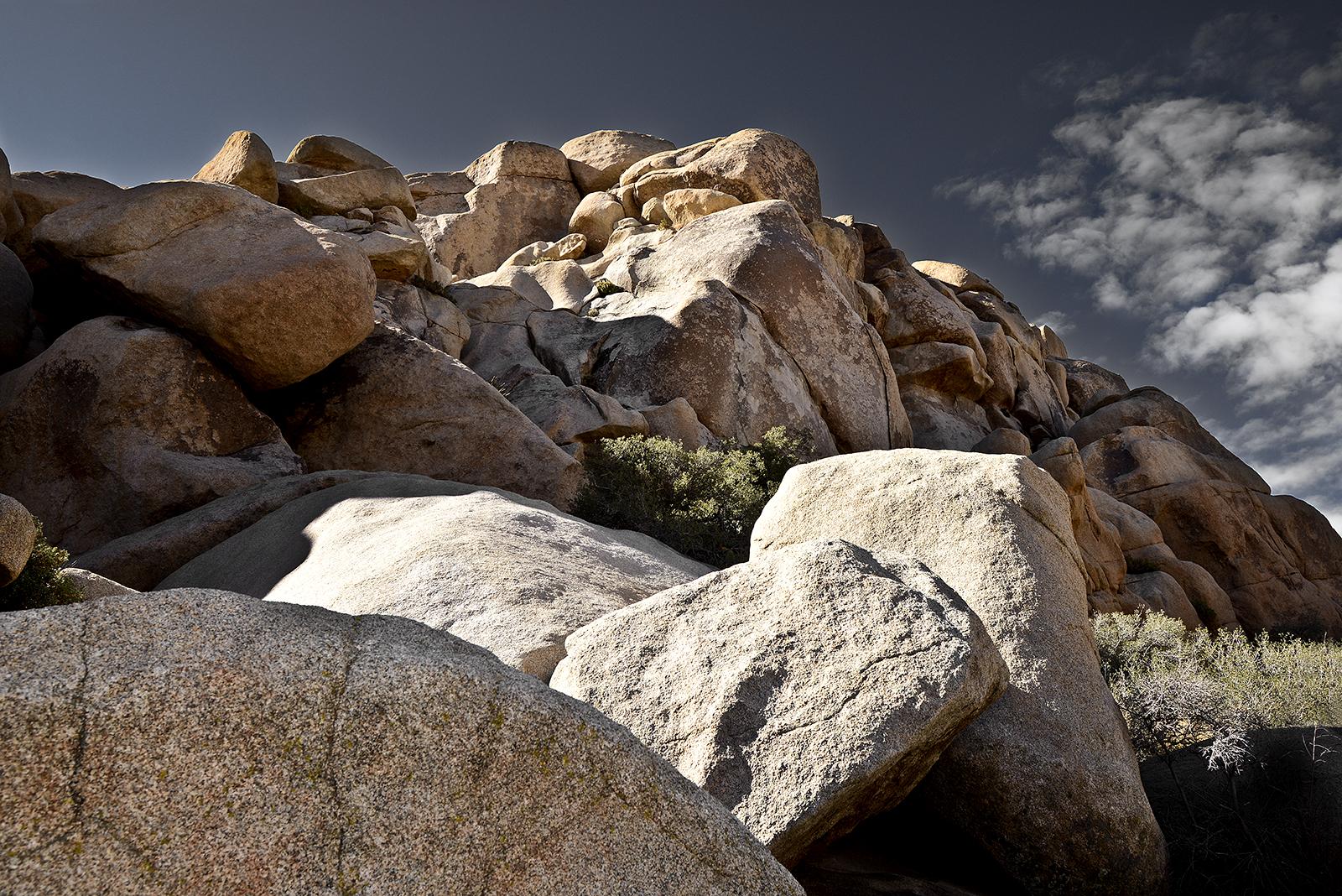 Joshua Tree National Park, Rocks, Early Morning