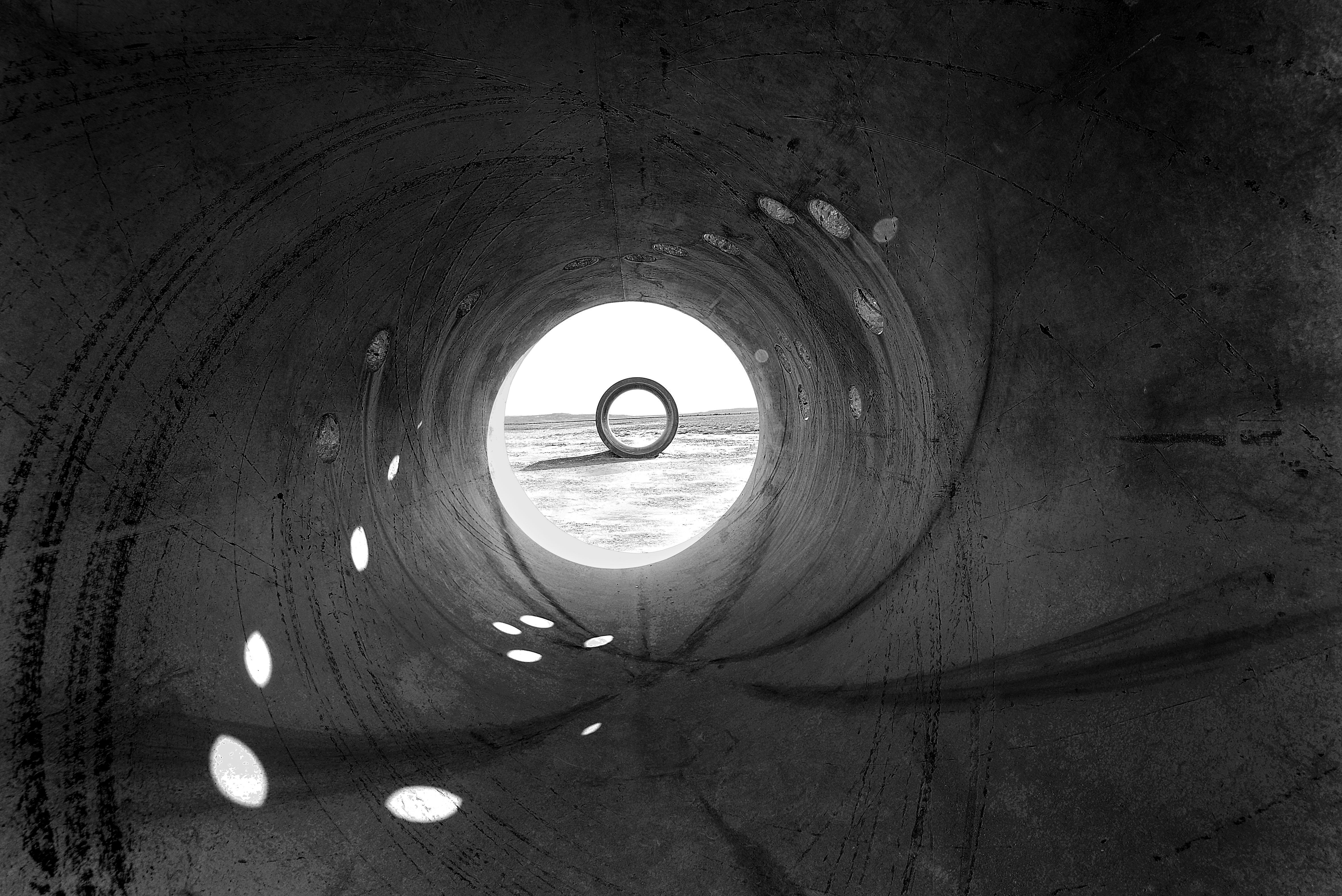 Sun Tunnels, Great Basin Desert, Eastern Utah