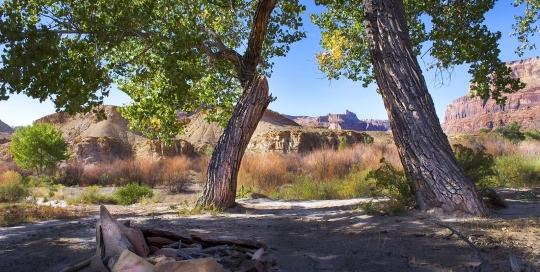 Campsite, San Rafael Swell, Utah
