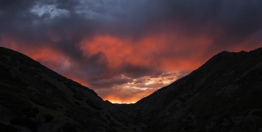 Sunrise, Emigration Canyon, Salt Lake City