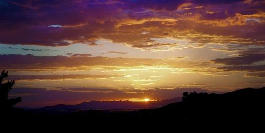 Sunset, Donner Park, Salt Lake City, Utah