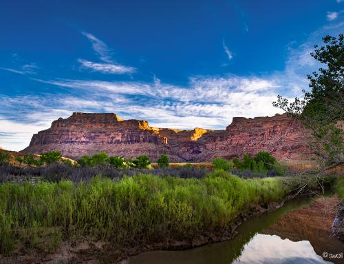 "Sunrise, and the San Rafael ""River"""